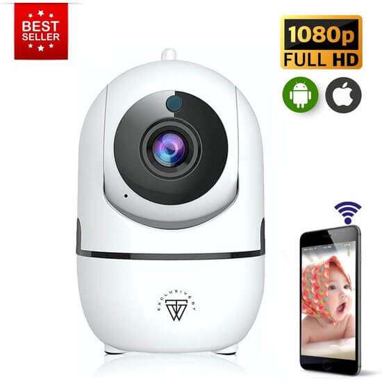 Exclusive By TW Wifi Babyfoon Met Camera